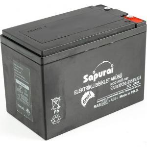 Sapurai 12V 24 Ah /10 Hr Elektrikli Aküsü