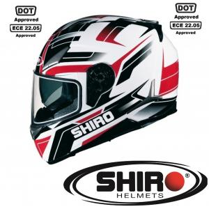 MOTOSİKLET KASKI SHIRO SPORT RACING TECHNOLOGY ECE VE DOT