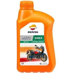 REPSOL MOTO RIDER 4T 10W40 1 LİTRE MOTOSİKLET YAĞI 1. KALİTE