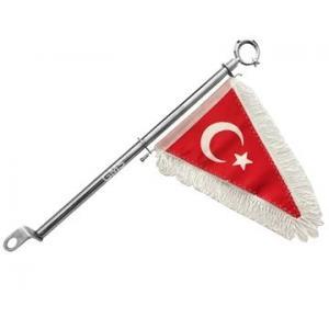 TÜRK BAYRAĞI FLAMA 45CM KALİTELİ